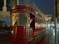 Dubai Trolley (it doesn't run very far!)