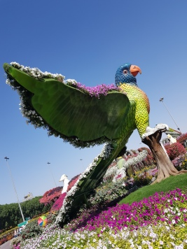 giant flower birds