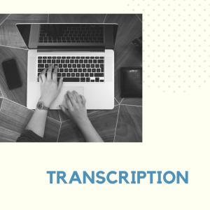 transcription image
